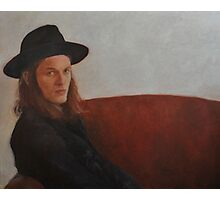 James Bay. Hat lover Photographic Print