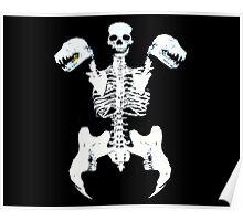 Vampire Abomination Skeleton Poster