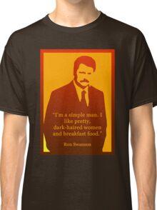 He's a simple man Classic T-Shirt