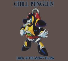 Chill Penguin Baby Tee