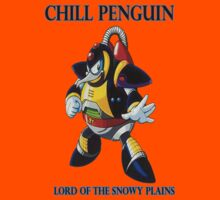 Chill Penguin Kids Tee