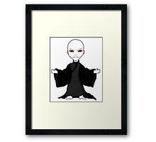 Chibi  Lord Voldemort Framed Print