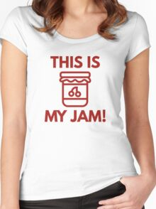 This Is My Jam! Women's Fitted Scoop T-Shirt