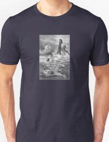 Blown Up Astronaut – Under the Waves (Ballantyne, Robert Michael) Unisex T-Shirt