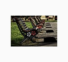 Empty Benches Unisex T-Shirt