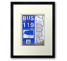 DIRTY BUS GUIDE FOR SILENT HILL Framed Print