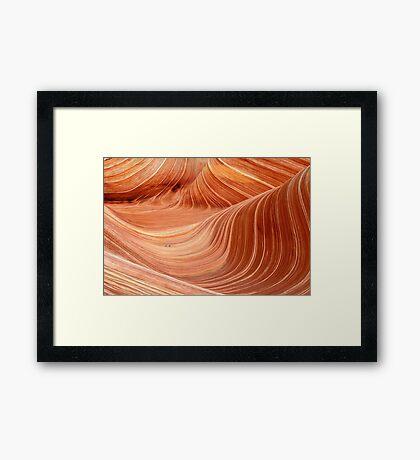 The Wave, Arizona Framed Print