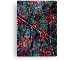 Vintage Trendy Floral Pattern Canvas Print