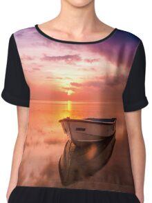 Boat Chiffon Top