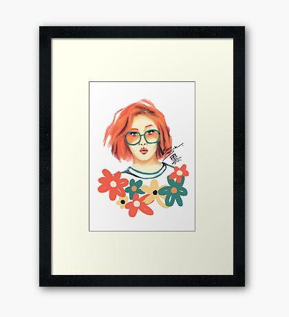 Hwasa Framed Print
