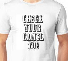 CHECK YOURCAMEL TOE Unisex T-Shirt