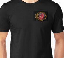 Gothic Dragon Red and Gold Unisex T-Shirt