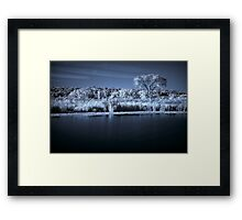 Prairie Infrared Framed Print