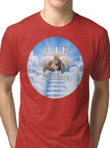 RIP Harambe (Circle Edition) Tri-blend T-Shirt