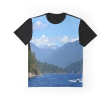 Boating on Indian Arm Graphic T-Shirt