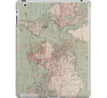 Vintage Map of The World (1918)  iPad Case/Skin