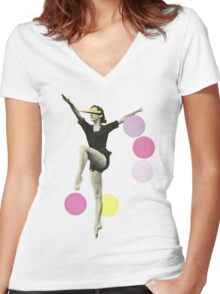 The Rules of Dance II Women's Fitted V-Neck T-Shirt