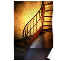 The Light on the Staircase............. Poster