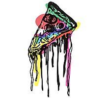 Pop Pizza Photographic Print