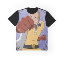 One Punch Blue Graphic T-Shirt