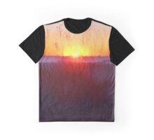 Florida Beach Scene #1 Graphic T-Shirt