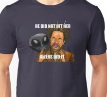 I did not hit her, I did nahht - The Room Unisex T-Shirt