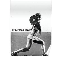 Fear Is A Liar Poster