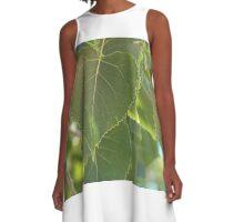 Cottonwood Leaves A-Line Dress