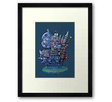 Fandom Moving Castle Framed Print