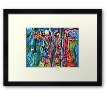 Water color Control Framed Print