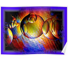 Abstract Digital Art Poster