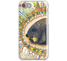 Hibernating Bear Totem iPhone Case/Skin