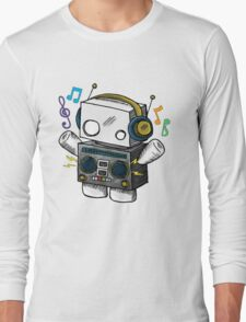 robo beat box Long Sleeve T-Shirt
