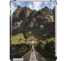 A Mountain Trip iPad Case/Skin