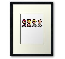 Earthbound Guys Framed Print