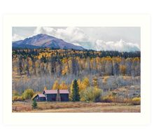 Home on the Gore Range Art Print