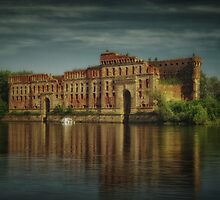 Modlin Fortress grain storage by Piotr Tyminski
