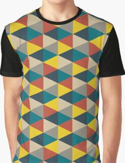 Colorful geometric   Graphic T-Shirt