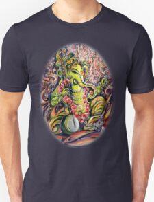 Ganesha - Playing Tanpura Unisex T-Shirt