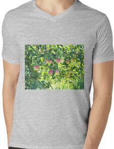 Apples On The Tree Mens V-Neck T-Shirt