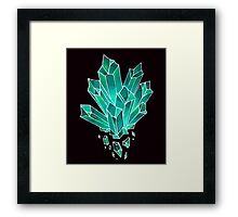 Crystal Shards Framed Print