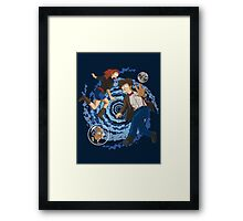 Doctorama Returns Framed Print
