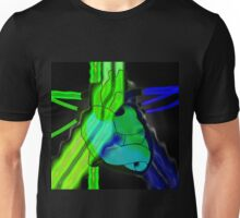radioactive heart Unisex T-Shirt