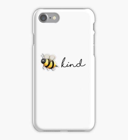bee kind iPhone Case/Skin