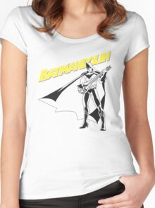 Batmandolin Women's Fitted Scoop T-Shirt