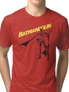 Batmandolin Tri-blend T-Shirt