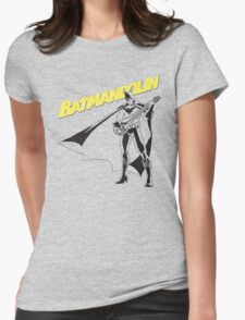 Batmandolin Womens Fitted T-Shirt