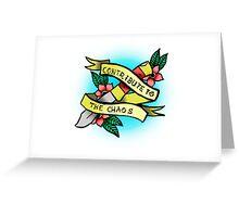 TFB Twin Size Matress Greeting Card