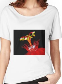 Flower Close-Up Women's Relaxed Fit T-Shirt