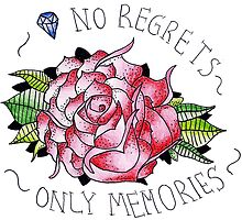 No regrets, only memories. by recicala